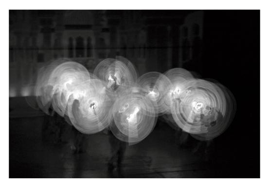 baile de luces