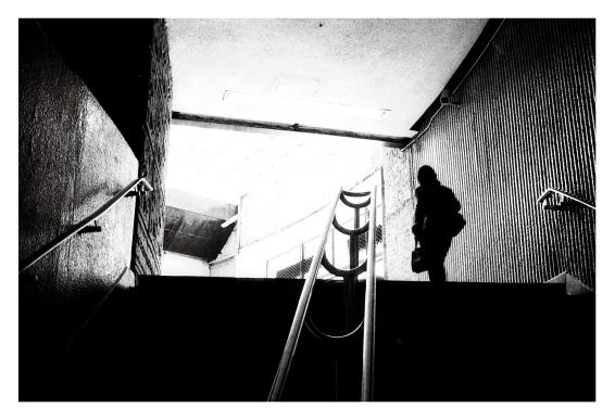 metro contraluz