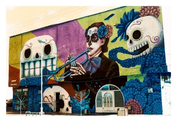 Mural Catrina