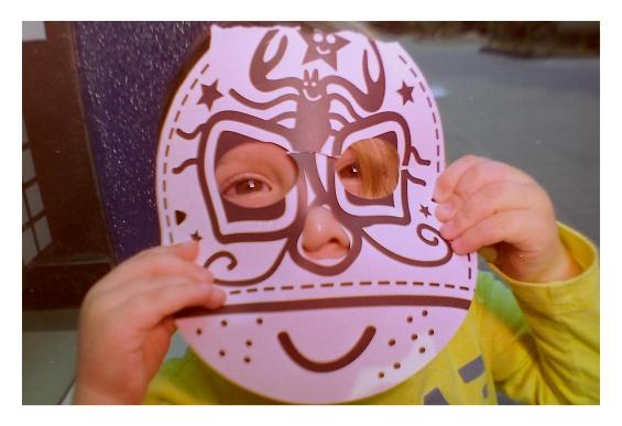 Poncio mascara
